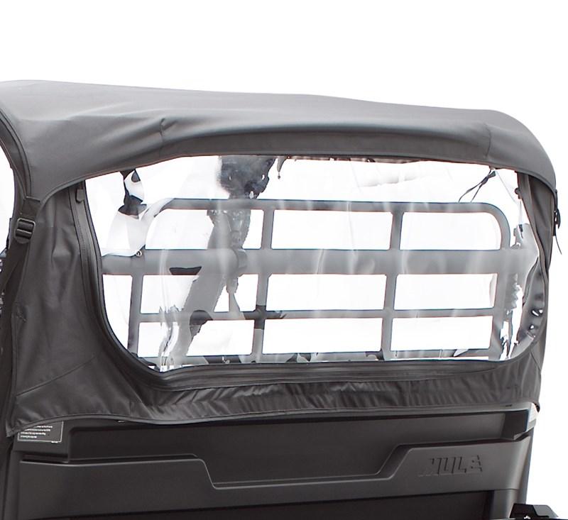 Cab Enclosure, Soft Back, Black detail photo 1