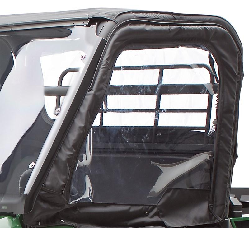 Cab Enclosure, Soft Upper Door Set, Black detail photo 1