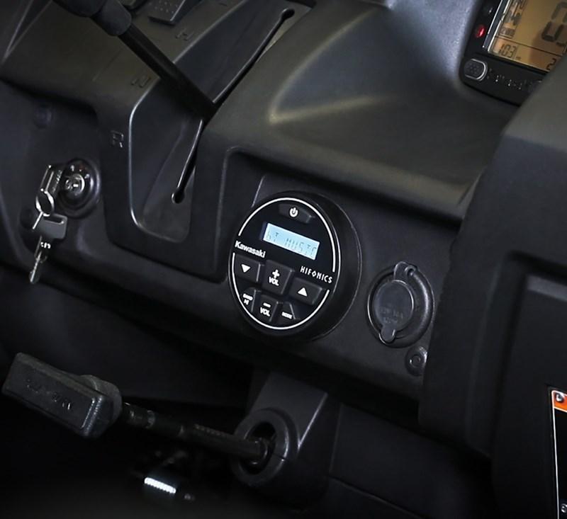 Audio System detail photo 4