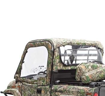 Soft Cab Enclosure Roof, TrueTimber® HTC Green