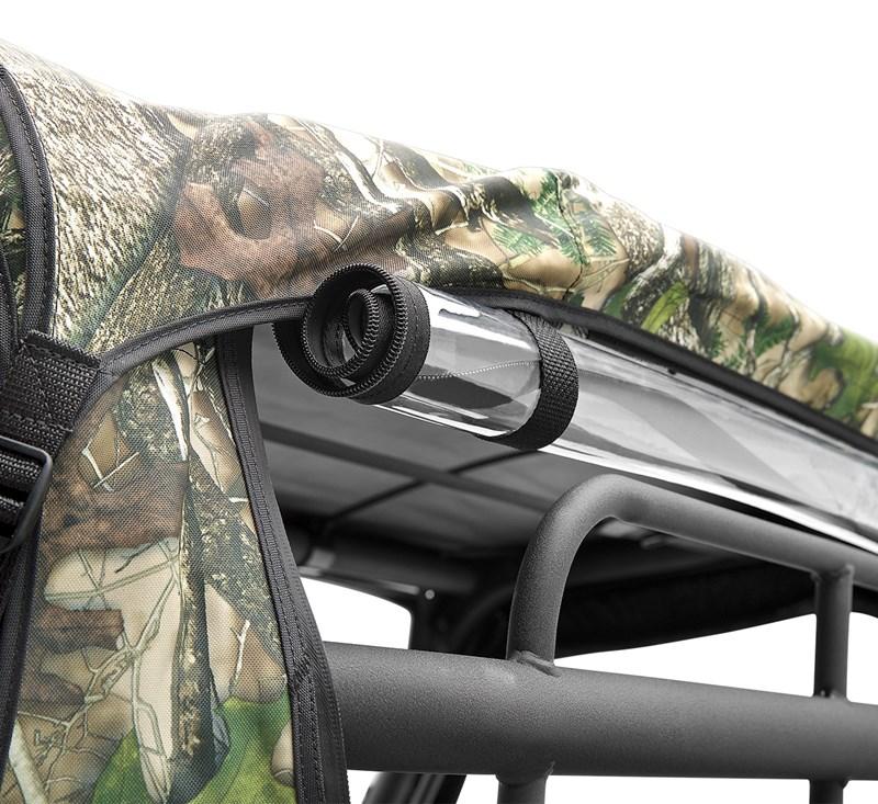 Cab Enclosure, Soft Back, TrueTimber® HTC Green detail photo 3