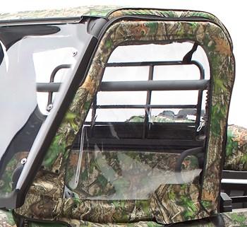 Cab Enclosure, Upper Door Set, TrueTimber® HTC Green