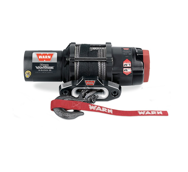 WARN® Pro Vantage™ 3500S Winch detail photo 1