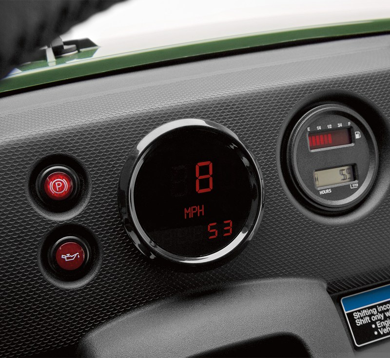 LED Speedometer/Odometer detail photo 1