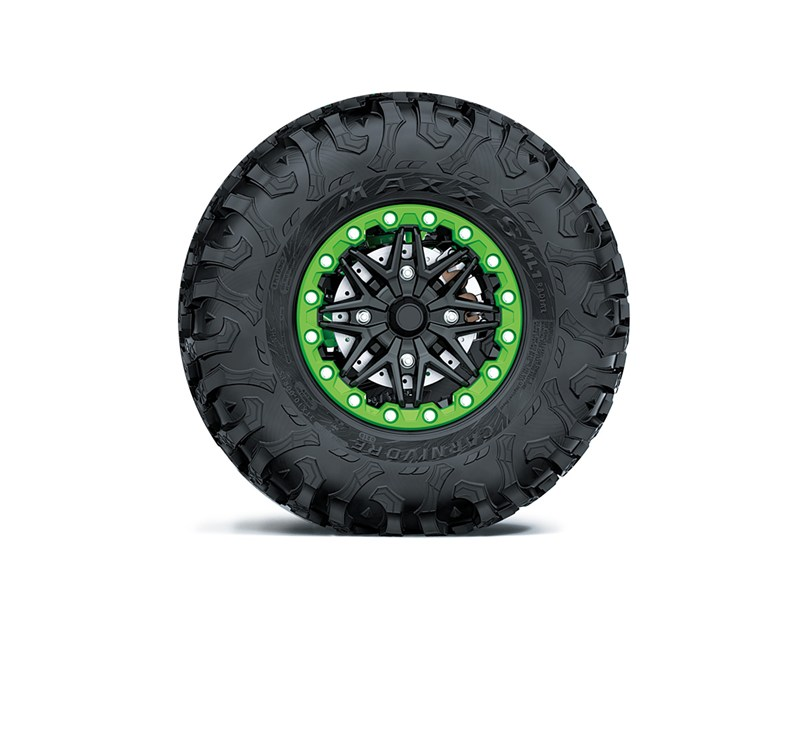 Spare Tire Assembly, Green detail photo 1