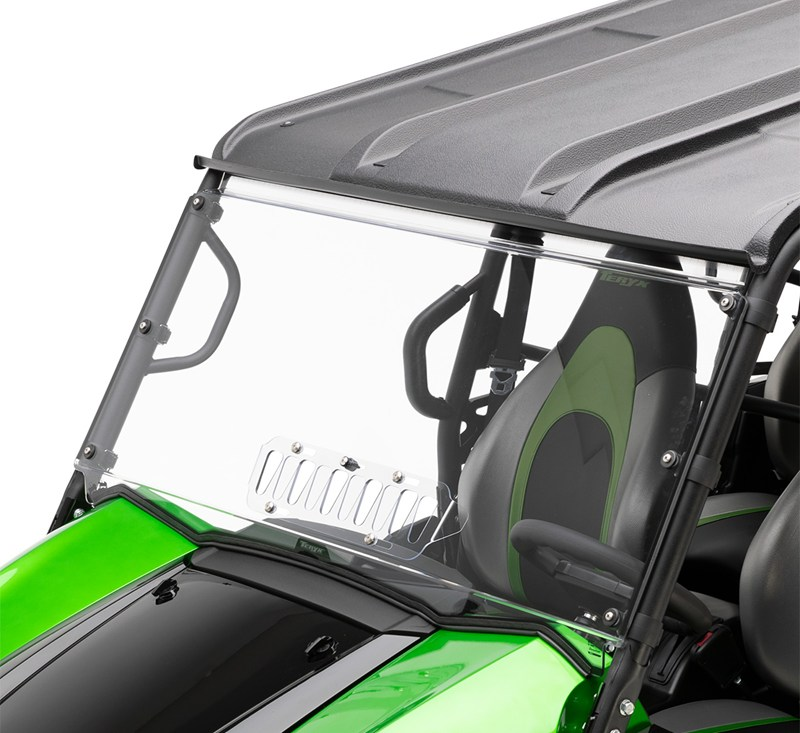 KQR™ Full Windshield, Polycarbonate detail photo 1