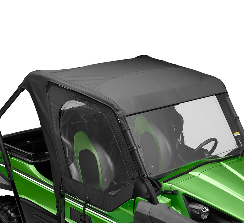 Soft Cab Enclosure, Roof and Back, Black detail photo 4