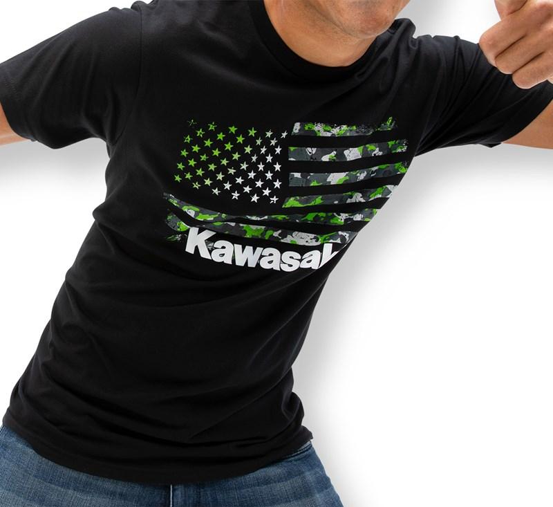 Camo Flag T-Shirt detail photo 1