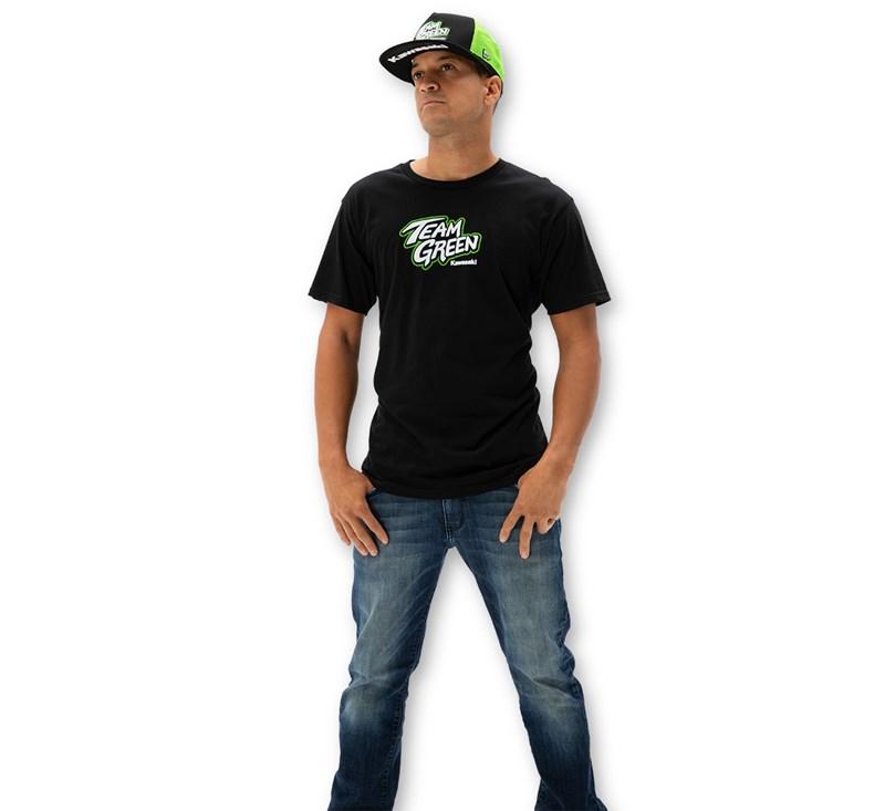 Team Green Race T-Shirt detail photo 2