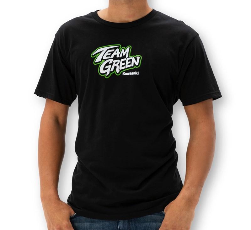 Team Green Race T-Shirt detail photo 1