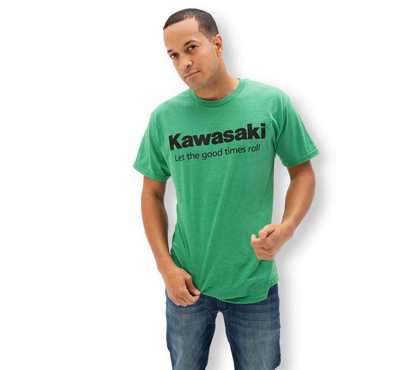 Kawasaki Let the good times roll™  T-Shirt detail photo 2