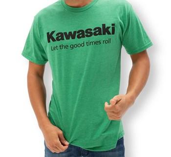 Kawasaki Let the good times roll™  T-Shirt