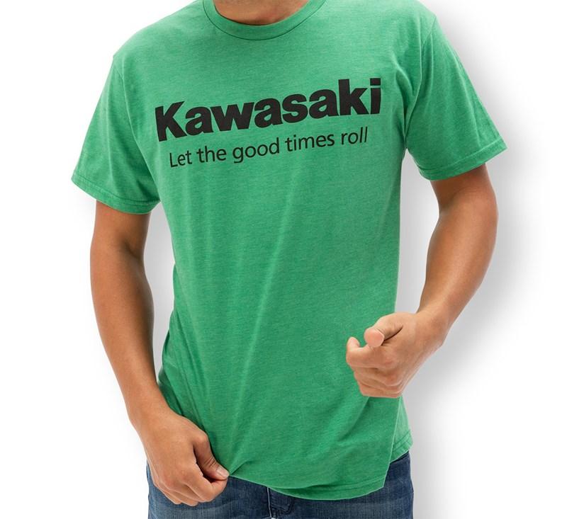 Kawasaki Let the good times roll™  T-Shirt detail photo 1