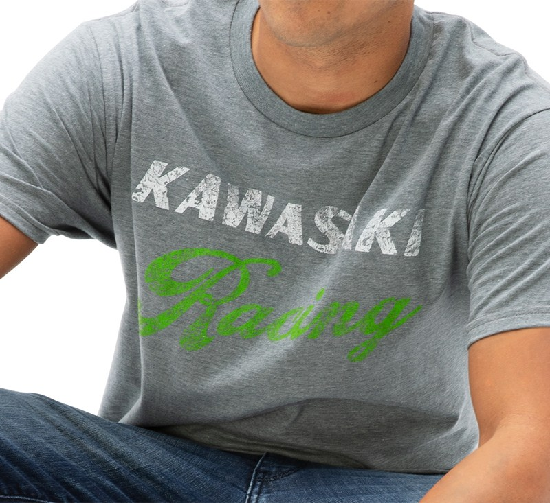 Kawasaki Heritage Racing T-Shirt detail photo 1