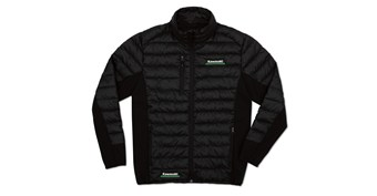 Kawasaki 3 Green Lines Puff Jacket