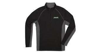 Kawasaki 3 Green Lines Half Zip Pullover