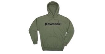 Kawasaki Logo Pullover Hooded Sweatshirt