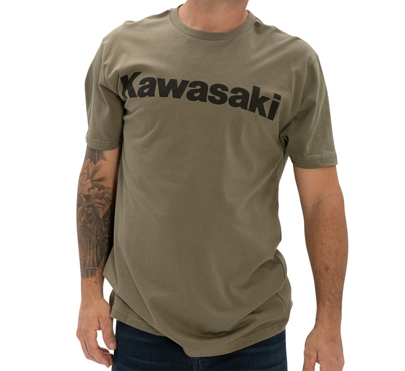 Kawasaki Logo T-Shirt detail photo 2