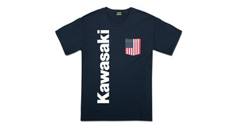 Kawasaki Flag Pocket T-Shirt