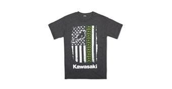 Kawasaki  Flag Moto T-Shirt