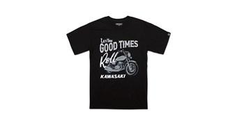 Kawasaki Heritage Motorcycle T-Shirt