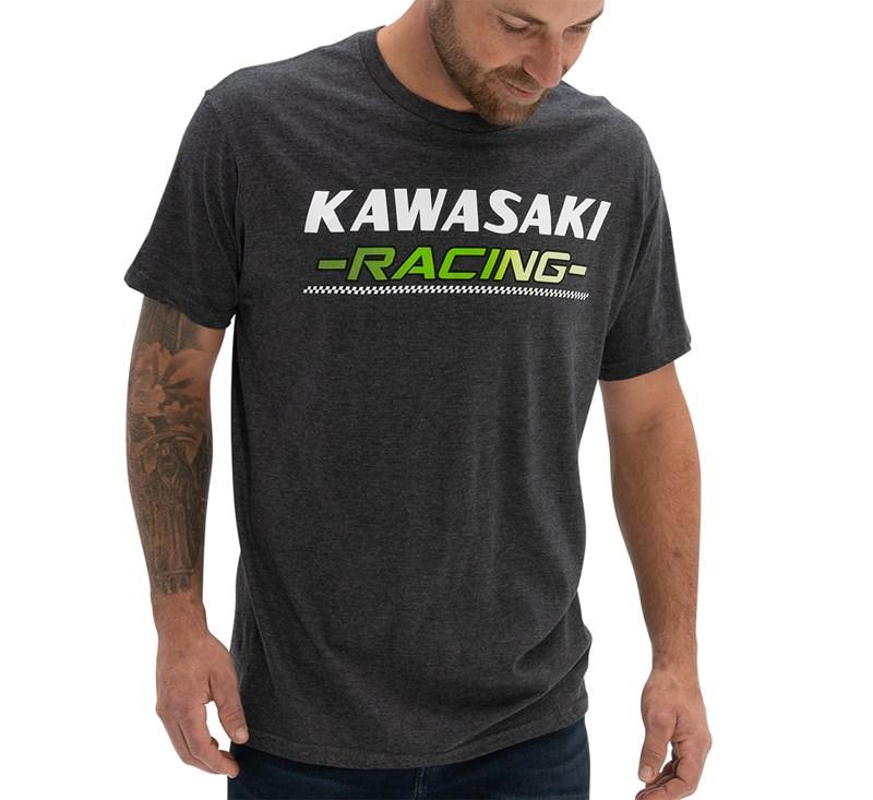 Kawasaki Heritage Racing T-shirt detail photo 2
