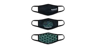 Kawasaki 3 Pack of Masks
