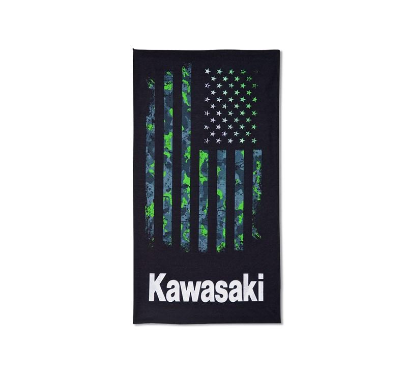 Kawasaki Multifunctional Bandana Scarf detail photo 1