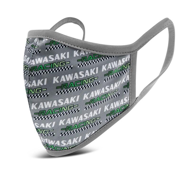 Kawasaki Cloth Face Masks 3 Pack - Flag Style detail photo 4