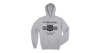Kawasaki Heritage Collegiate Pullover Hooded Sweatshirt