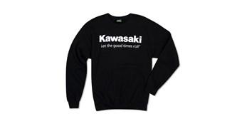 Kawasaki Let the Good Times Roll® Crew Neck Sweatshirt