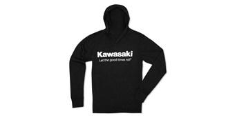 Kawasaki Let The Good Times Roll® Long-Sleeve Hoodie T-Shirt
