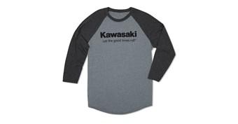Kawasaki Let The Good Times Roll® Raglan T-Shirt