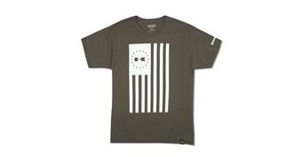 Heritage Kawasaki Tonal Freedom Flag T-Shirt