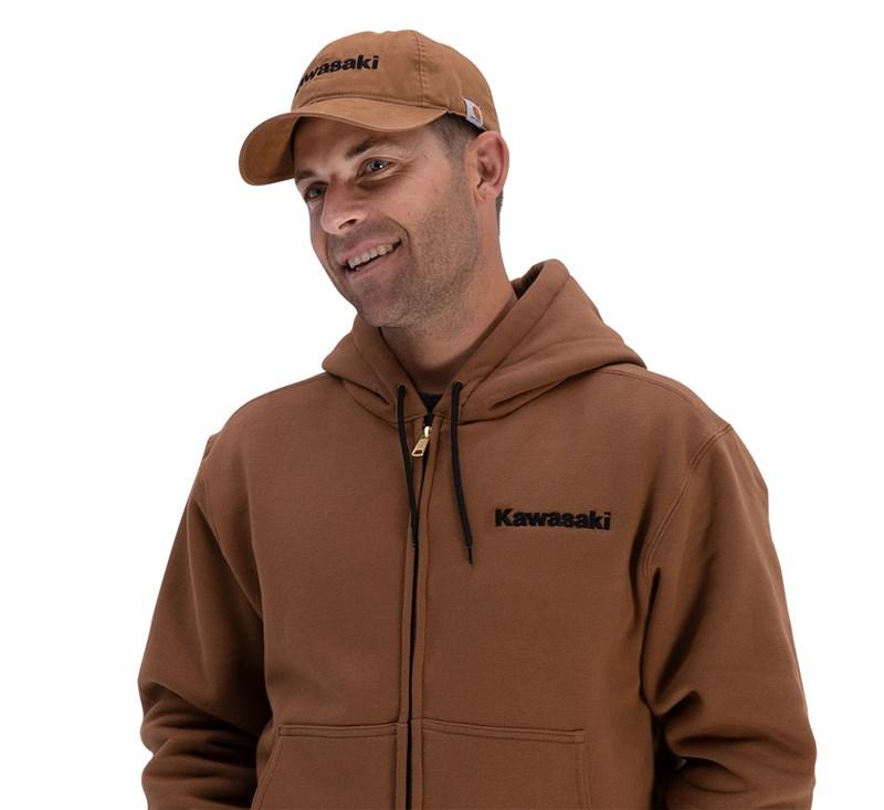 Kawasaki Carhartt® Canvas Cap, Carhartt® Brown detail photo 3