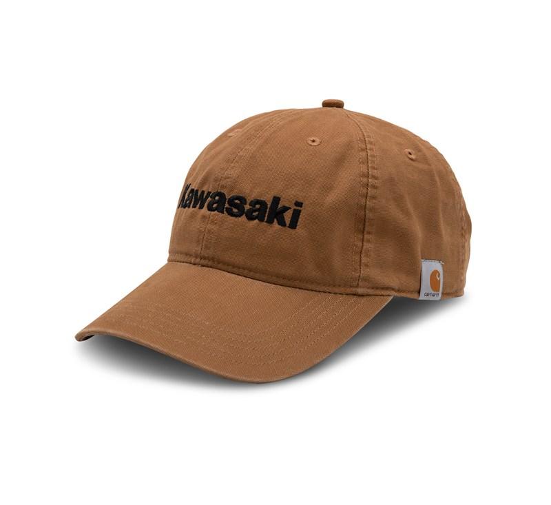 Kawasaki Carhartt® Canvas Cap, Carhartt® Brown detail photo 1