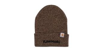 Kawasaki Carhartt® Beanie, Dark Brown Sandstone