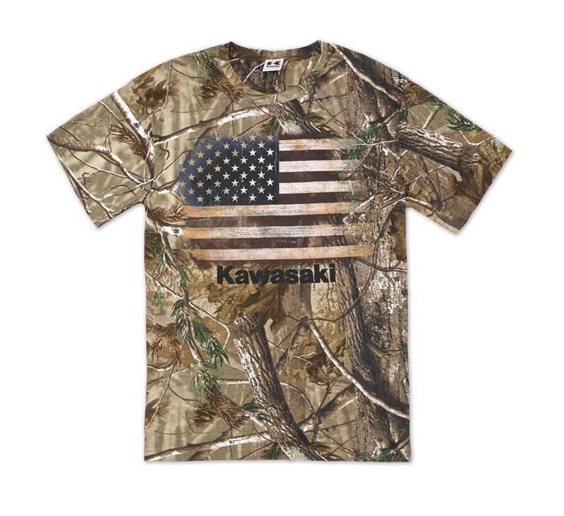 Flag Realtree® Xtra Green T-Shirt detail photo 1
