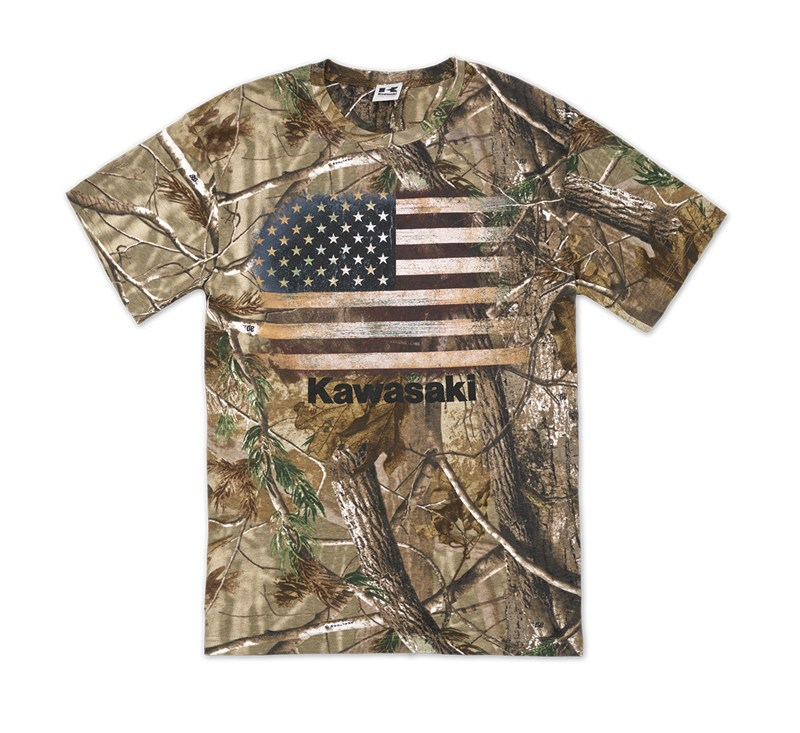 Flag Realtree® Xtra Green T-Shirt detail photo 1