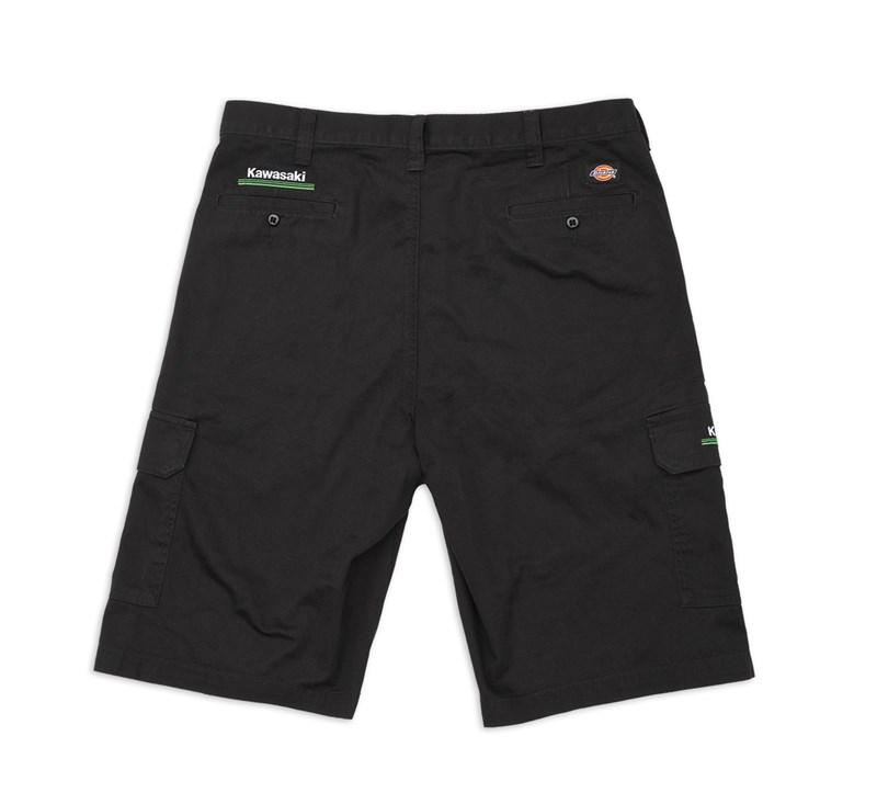 Dickies® Kawasaki 3 Green Lines Cargo Shorts detail photo 2