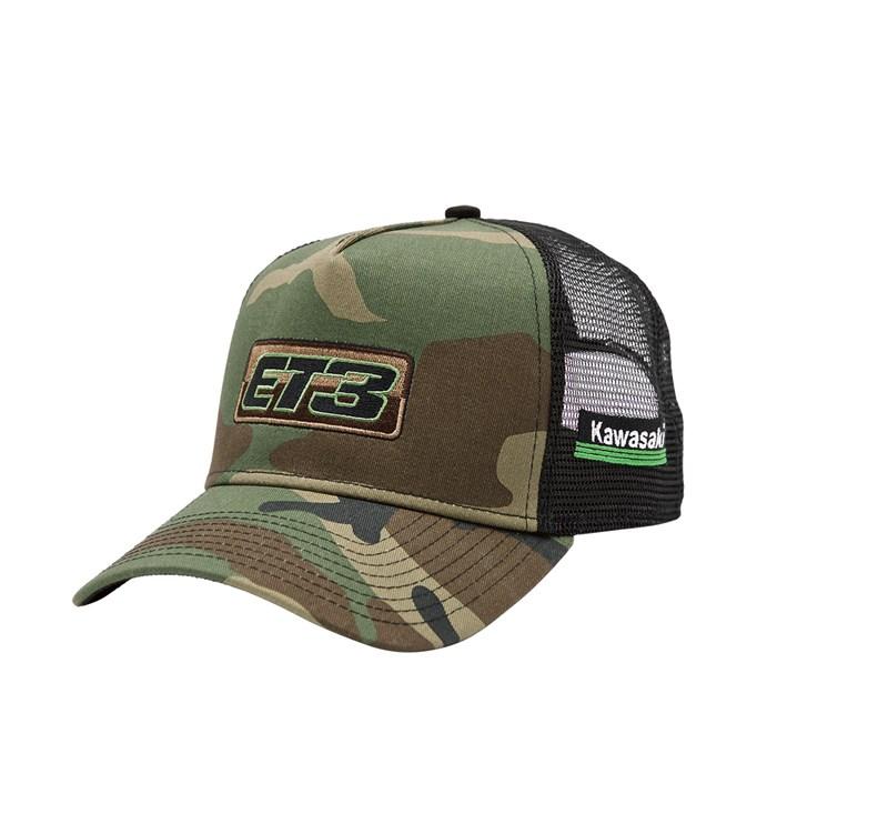 ET3 Camo Hat detail photo 1