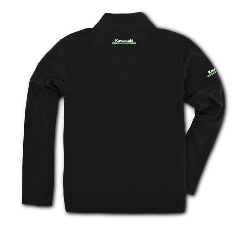 Kawasaki 3 Green Lines Softshell Jacket detail photo 2
