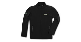 Kawasaki 3 Green Lines Softshell Jacket