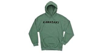 Kawasaki Heritage Logo Hooded Sweatshirt