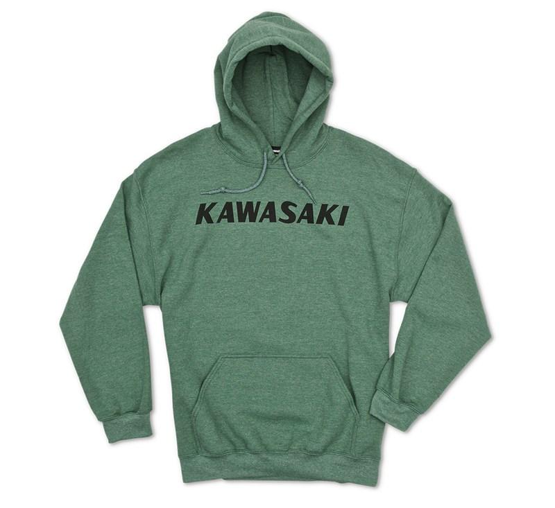 Kawasaki Heritage Logo Hooded Sweatshirt detail photo 1