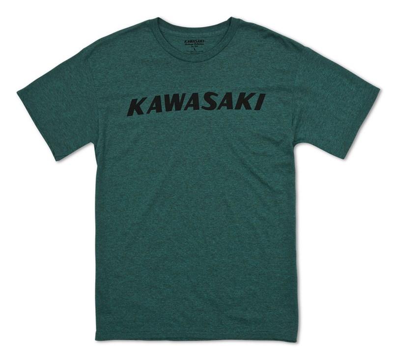 Kawasaki Heritage Logo T-shirt detail photo 1