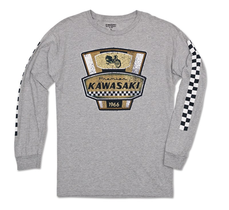 Kawasaki Heritage Long Sleeve Premier T-shirt detail photo 1