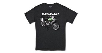 Kawasaki Heritage Moto T-shirt