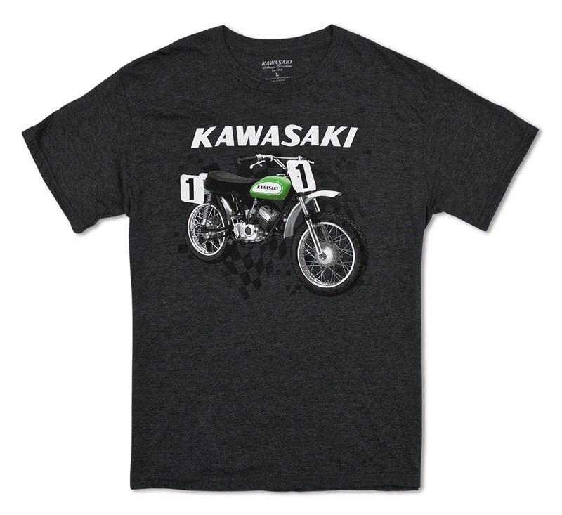 Kawasaki Heritage Moto T-shirt detail photo 1