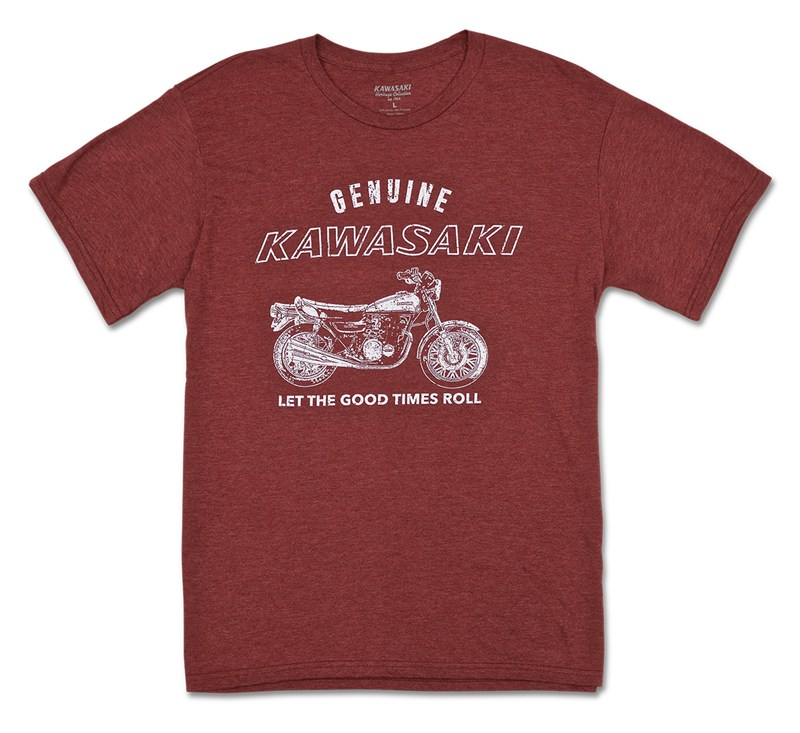 Kawasaki Heritage Genuine T-shirt detail photo 1